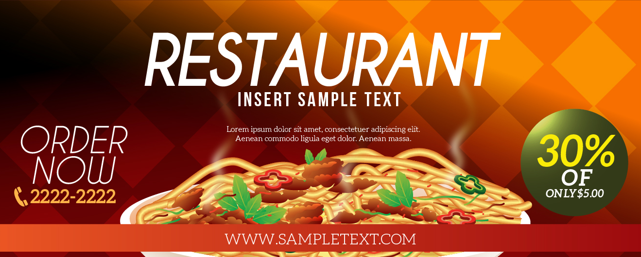 20+ New For Restaurant Banner Images Hd